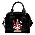 Byrne or O'Byrne Ireland Shoulder Handbag - Irish Family Crest   Highest Quality Standard