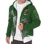 Croke Ireland Sherpa Hoodie Celtic Irish Shamrock and Sword | Over 1400 Crests | Clothing | Apparel