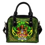 Hemphill Ireland Shoulder HandBag Celtic Shamrock | Over 1400 Crests | Bags | Premium Quality