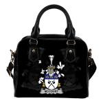 McCourt Ireland Shoulder Handbag - Irish Family Crest | Highest Quality Standard