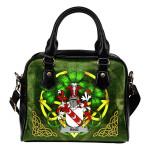 Ring or O'Ring Ireland Shoulder HandBag Celtic Shamrock   Over 1400 Crests   Bags   Premium Quality