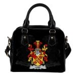 Lane Ireland Shoulder Handbag - Irish Family Crest | Highest Quality Standard