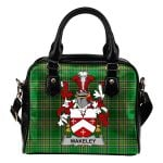 Wakeley Ireland Shoulder Handbag Irish National Tartan  | Over 1400 Crests | Bags | Water-Resistant PU leather