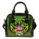 Mather or Mathers Ireland Shoulder HandBag Celtic Shamrock | Over 1400 Crests | Bags | Premium Quality