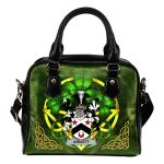Arnott Ireland Shoulder HandBag Celtic Shamrock | Over 1400 Crests | Bags | Premium Quality
