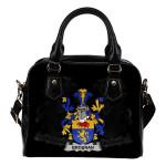 Brosnan or O'Brosnan Ireland Shoulder Handbag - Irish Family Crest | Highest Quality Standard