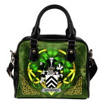 Archdekin Ireland Shoulder HandBag Celtic Shamrock | Over 1400 Crests | Bags | Premium Quality