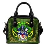 St. George Ireland Shoulder HandBag Celtic Shamrock | Over 1400 Crests | Bags | Premium Quality