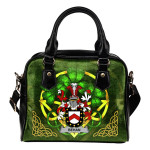 Behan Ireland Shoulder HandBag Celtic Shamrock | Over 1400 Crests | Bags | Premium Quality