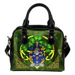 Bligh Ireland Shoulder HandBag Celtic Shamrock | Over 1400 Crests | Bags | Premium Quality
