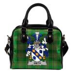 Smith or Smyth Ireland Shoulder Handbag Irish National Tartan    Over 1400 Crests   Bags   Water-Resistant PU leather