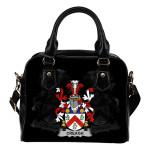 Creagh Ireland Shoulder Handbag - Irish Family Crest | Highest Quality Standard