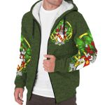 Merry or O'Merry Ireland Sherpa Hoodie Celtic and Shamrock | Over 1400 Crests | Clothing | Apparel