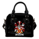 Manders Ireland Shoulder Handbag - Irish Family Crest | Highest Quality Standard