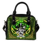Duane or O'Devine Ireland Shoulder HandBag Celtic Shamrock | Over 1400 Crests | Bags | Premium Quality