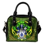 Shanahan or O'Shanahan Ireland Shoulder HandBag Celtic Shamrock | Over 1400 Crests | Bags | Premium Quality