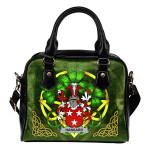 Hansard Ireland Shoulder HandBag Celtic Shamrock | Over 1400 Crests | Bags | Premium Quality
