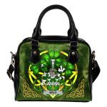 Weld Ireland Shoulder HandBag Celtic Shamrock | Over 1400 Crests | Bags | Premium Quality