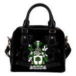 Flanagan or O'Flanagan Ireland Shoulder Handbag - Irish Family Crest   Highest Quality Standard