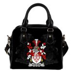 Fitz-Roe Ireland Shoulder Handbag - Irish Family Crest | Highest Quality Standard
