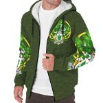 McEniry or McEnery Ireland Sherpa Hoodie Celtic and Shamrock | Over 1400 Crests | Clothing | Apparel