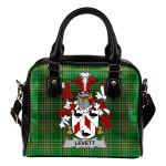 Levett or Lyvett Ireland Shoulder Handbag Irish National Tartan    Over 1400 Crests   Bags   Water-Resistant PU leather