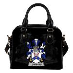 Lonergan or O'Lonergan Ireland Shoulder Handbag - Irish Family Crest   Highest Quality Standard