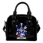 Keane or O'Cahan Ireland Shoulder Handbag - Irish Family Crest | Highest Quality Standard