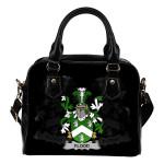 Flood Ireland Shoulder Handbag - Irish Family Crest | Highest Quality Standard