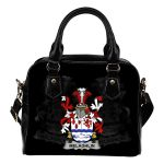 Melaghlin or O'Melaghlin Ireland Shoulder Handbag - Irish Family Crest | Highest Quality Standard