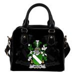 Mallin or O'Mallan Ireland Shoulder Handbag - Irish Family Crest | Highest Quality Standard