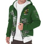 Ashmore Ireland Sherpa Hoodie Celtic Irish Shamrock and Sword | Over 1400 Crests | Clothing | Apparel
