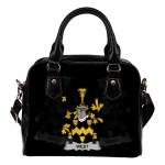 West Ireland Shoulder Handbag - Irish Family Crest | Highest Quality Standard