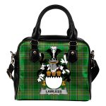 Lawless Ireland Shoulder Handbag Irish National Tartan  | Over 1400 Crests | Bags | Water-Resistant PU leather