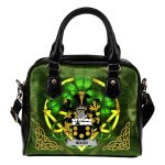 Nixon Ireland Shoulder HandBag Celtic Shamrock | Over 1400 Crests | Bags | Premium Quality