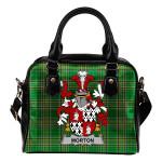 Morton Ireland Shoulder Handbag Irish National Tartan    Over 1400 Crests   Bags   Water-Resistant PU leather