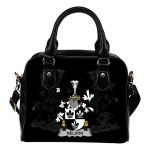 Nelson or Nealson Ireland Shoulder Handbag - Irish Family Crest | Highest Quality Standard