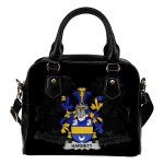 Harnett or Hartnet Ireland Shoulder Handbag - Irish Family Crest | Highest Quality Standard