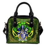 Dolphin or Dolphyn Ireland Shoulder HandBag Celtic Shamrock | Over 1400 Crests | Bags | Premium Quality