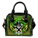 Durkin or O'Durkin Ireland Shoulder HandBag Celtic Shamrock | Over 1400 Crests | Bags | Premium Quality