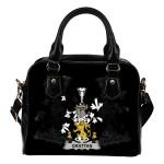 Grattan or McGrattan Ireland Shoulder Handbag - Irish Family Crest | Highest Quality Standard