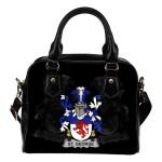 St. George Ireland Shoulder Handbag - Irish Family Crest | Highest Quality Standard