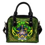 Harris Ireland Shoulder HandBag Celtic Shamrock | Over 1400 Crests | Bags | Premium Quality