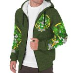 Hanly or O'Hanley Ireland Sherpa Hoodie Celtic and Shamrock | Over 1400 Crests | Clothing | Apparel