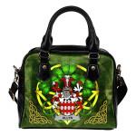 Allyn Ireland Shoulder HandBag Celtic Shamrock | Over 1400 Crests | Bags | Premium Quality