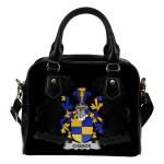 Cusack Ireland Shoulder Handbag - Irish Family Crest   Highest Quality Standard