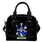 Sheehan or O'Sheehan Ireland Shoulder Handbag - Irish Family Crest | Highest Quality Standard
