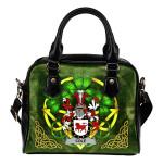 Cole Ireland Shoulder HandBag Celtic Shamrock | Over 1400 Crests | Bags | Premium Quality