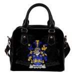 Shanley or McShanly Ireland Shoulder Handbag - Irish Family Crest   Highest Quality Standard
