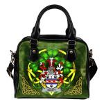Scott Ireland Shoulder HandBag Celtic Shamrock | Over 1400 Crests | Bags | Premium Quality
